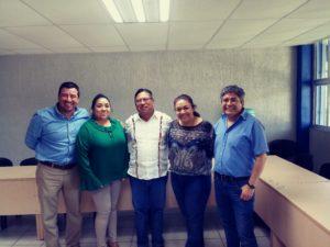 Reunión con el Presidente del CPC de Oaxaca