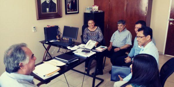 Reunión con el Fiscal Anticorrupción