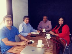 Reunión con el Colegio de Ingenieros en TICs del Estado de Guerrero