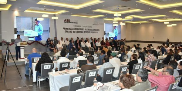 """Asistencia al Curso """"Principales funciones y atribuciones del Órgano de Control Interno Municipal"""""""
