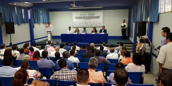 Instalación del Comité de Participación Ciudadana del Sistema Estatal Anticorrupción