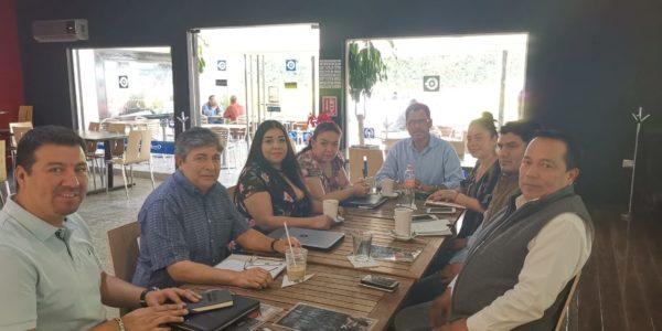 Reunión con los comisionados del ITAIGro