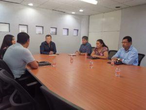 Reunión con el Dip. Héctor Apreza Patrón
