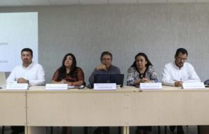 Conferencia de prensa para dar a conocer la convocatoria para selección del Secretario Técnico del SEA