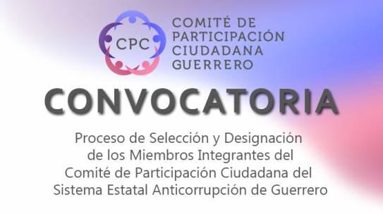 Convocatoria para la Selección y Designación de Integrantes del CPC
